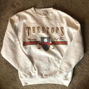 Vintage golf sweatshirt